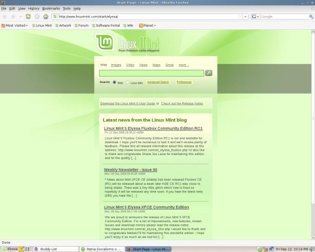 Pagina web Official (click para bajar LM)