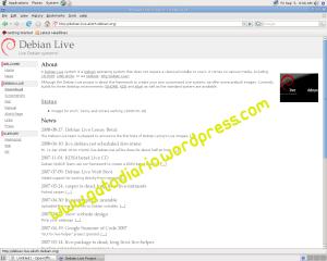 Pagina Oficial de debian Live