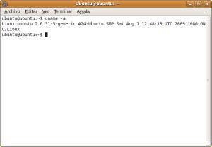 version del kernel