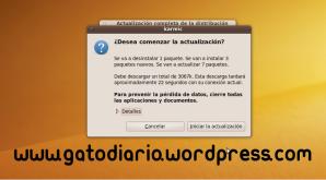 Actualización de Ubuntu 9.10 beta a 9.10 RC